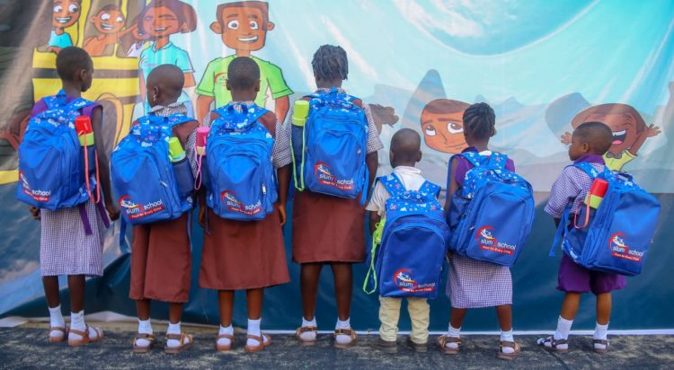 Slum2School enrols 510 out-of-school children from 11 communities into 5 schools accross Lagos State